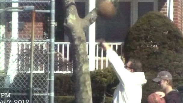 "PHOTO: Prosecutors used the above image during a press conference and described it as a photograph from ""physical surveillance"" showing Darrin Lamantia playing basketball."