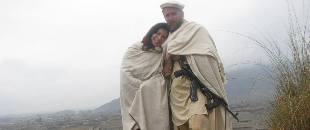 "PHOTO: In her book ""American Spartan,"" former Washington Post journalist Ann Scott Tyson writes that she fell in love with former Special Forces Maj. Jim Gant in Afghanistan."