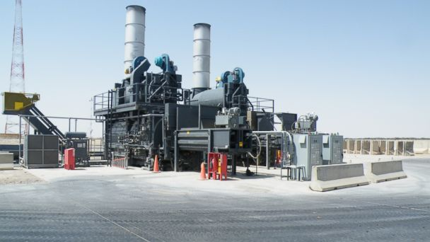 PHOTO: These $11.5 million waste incinerator installed at Camp Leatherneck in Afghanistan is not being used to full capacity, according to the Special Inspector General for Afghanistan Reconstruction.