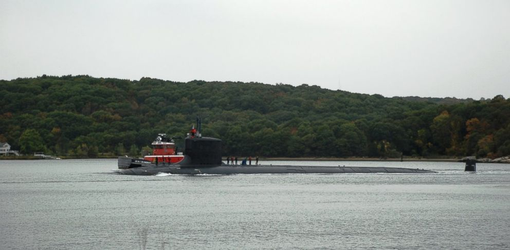 PHOTO: The attack submarine USS Virginia (SSN 774) departs Naval Submarine Base New London to begin her first scheduled full-length deployment, October 2009.