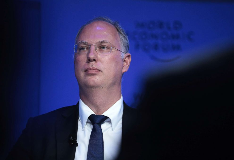 PHOTO: Kirill Dmitriev, chief executive officer of Russian Direct Investment Fund (RDIF), attends the World Economic Forum (WEF) in Davos, Switzerland, Jan. 19, 2017.