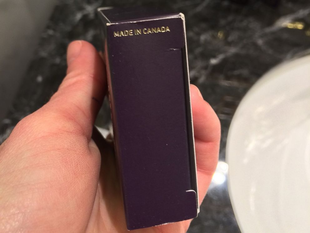 PHOTO: The Trump Hotel Collection toiletries were made in Canada.