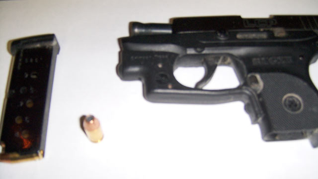 PHOTO: Airport security officials in Detroit confiscated this .38 caliber pistol from a 76-year-old man who told police he forgot that he was wearing when he tried to get through security, airport police said.