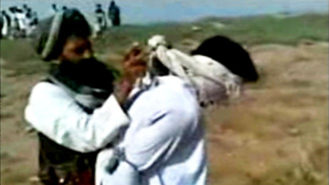 VIDEO: The Taliban sentenced a couple to be publicly stoned for wanting to marry.