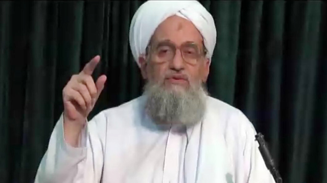 PHOTO:Al Qaeda leader ayman al-Zawahiri