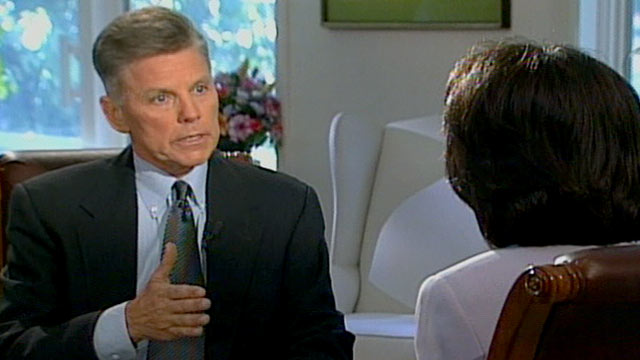 PHOTO: Anchor Connie Chung's interview with Congressman Gary Condit.