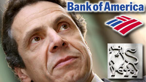 Photo: Cuomo Says BofA Interfering Bonus Investigation: NY AG want bank to reveal who received hundreds of millions in bonuses.