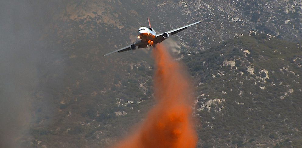 PHOTO: Firefighting airplane