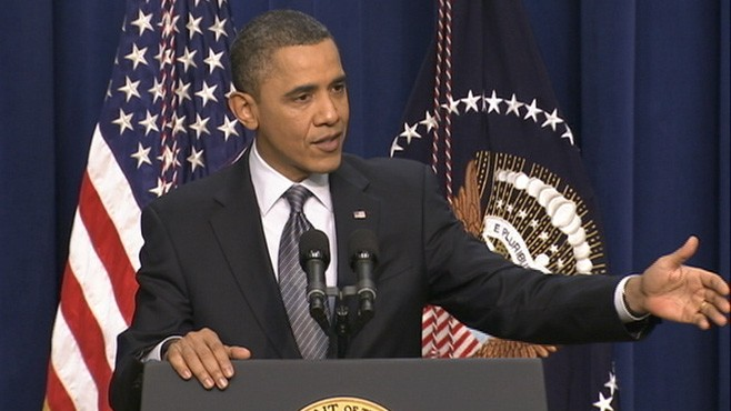 VIDEO: The president says Pakistan should release detained U.S. diplomat Ray Davis.