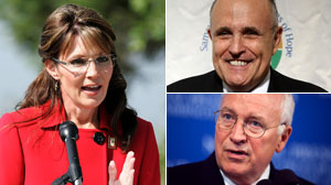 Before Quitting, Palin Called GOP Leaders