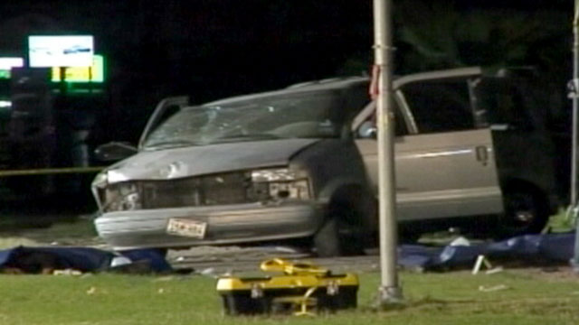 PHOTO: A 15 year-old from Texas is facing murder charges after he crashed a van killing nine illegal immigrants inside.