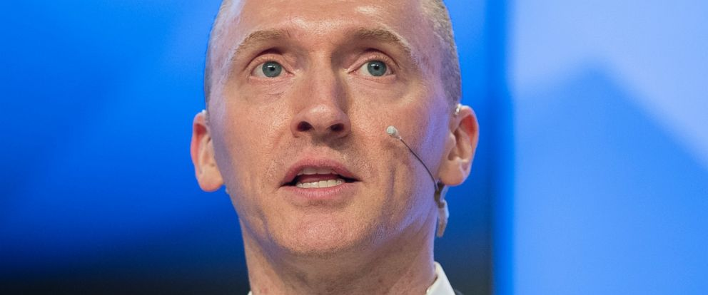 PHOTO: Carter Page, a former foreign policy adviser of U.S. President-elect Donald Trump, speaks at a news conference in Moscow, Russia, Monday, Dec. 12, 2016.