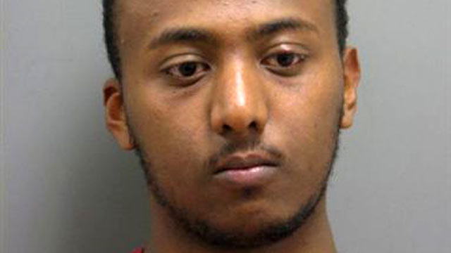 PHOTO: Yonathan Melaku, 22, of Alexandria, Va. is seen after his May 2011 arrest in Loudoun County, Va. in this undated file photo.