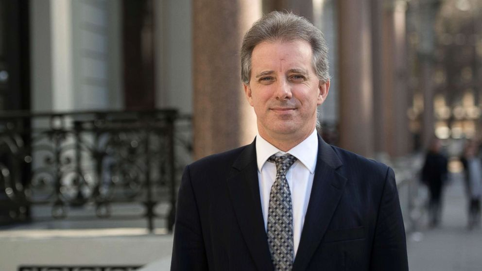 Christopher Steele, the former MI6 agent who set-up Orbis Business Intelligence, compiled a dossier on Donald Trump, in London, where he has spoken to the media for the first time, in this file photo dated March 7, 2017.