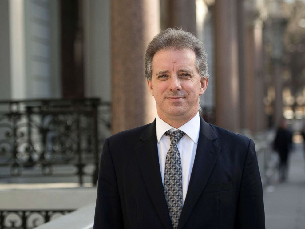 PHOTO: Christopher Steele, the former MI6 agent who set-up Orbis Business Intelligence, compiled a dossier on Donald Trump, in London, where he has spoken to the media for the first time, in this file photo dated March 7, 2017.