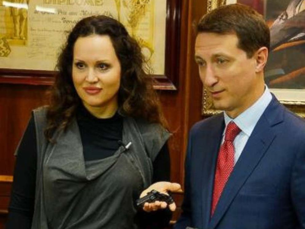 PHOTO: This image posted on ArsenalFirearms.com about page, shows Dimitriy Streshinskiy, with his wife Suzana, who is the owner of Arsenal Firearms.