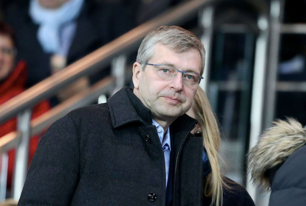 PHOTO: Dmitry Rybolovlev attends the French Ligue 1 match between Paris Saint-Germain and AS Monaco at Parc des Princes, March 20, 2016 in Paris.