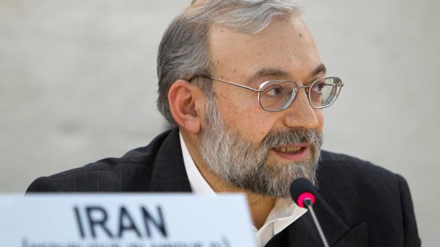 PHOTO: Mohammad Javad Larijani
