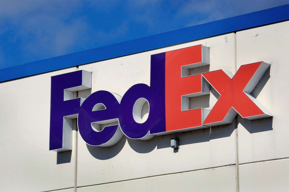 PHOTO: A FedEx logo marks the location of one of the companys distribution center, March 19, 2009, in Chicago.