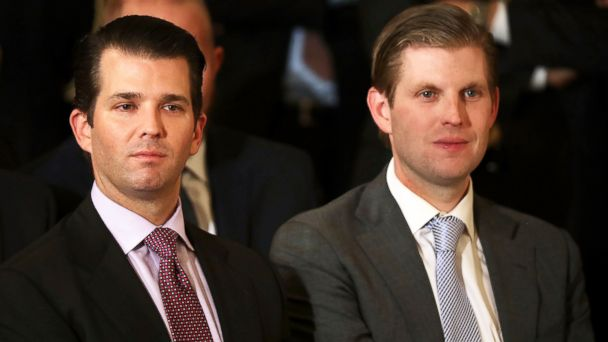 President Trump's sons defend father's Twitter attack against London mayor
