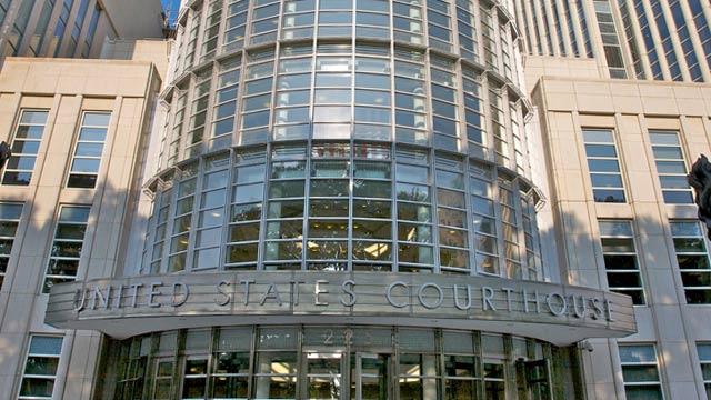 PHOTO: Federal courthouse in Brooklyn, N.Y.
