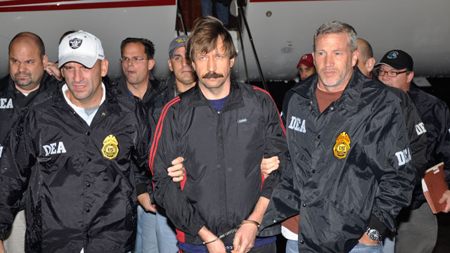 PHOTO: Former Soviet military officer Viktor Bout arrivES at Westchester County Airport, Nov. 16, 2010 in White Plains, N.Y.