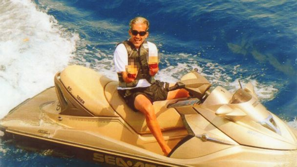 PHOTO: This image, taken from Glenn Leibermanns Facebook page and cited as evidence by federal prosecutors in New York, shows Leibermann on a jet ski.