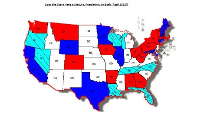 PHOTO: The Autism National Committee, AUTCOM, provides statistics on autism regulations across the country.