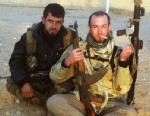 PHOTO: Eric Harroun, a U.S. Army veteran, fought with the rebels in Syria.