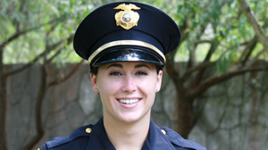 PHOTO Former Olympic Hopeful Turned Police Officer Says New Leaders Needed