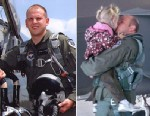 PHOTO: Capt. Jeff Haney was killed Nov. 16, 2010 shortly after his fighter plane, an F-22 Raptor, suffered a critical malfunction. He and his wife, Anna, had two young daughters.