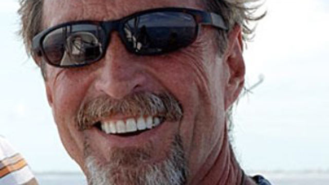 PHOTO: John McAfee is seen in this undated Facebook profile photo.