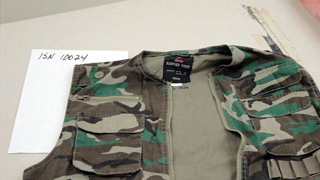 PHOTO: Khalid Sheikh Mohammed camouflage vest