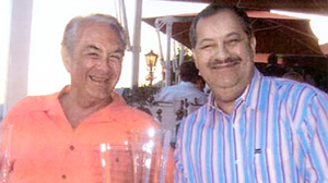 PHOTO Justice Elliott E. Maynard, left, and Don L. Blankenship, chief executive of Massey Energy, enjoy a night out in Monaco, in this file photo.