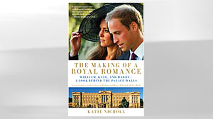 "PHOTO: Shown here ""The Making of a Royal Romance"" book cover."