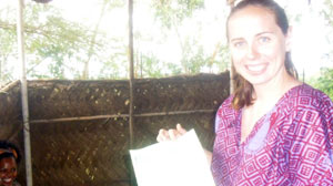 PHOTO On Oct. 8, 2010, the Peace Corp announced volunteer Stephanie Chance had perished, apparently of natural cause, in Niger.