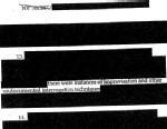 PHOTO A 2004 CIA Office of the Inspector General report is missing information on three deaths and more than a dozen detainees whose whereabouts could not be determined, according to a former senior intelligence official who has read the full, unredacted