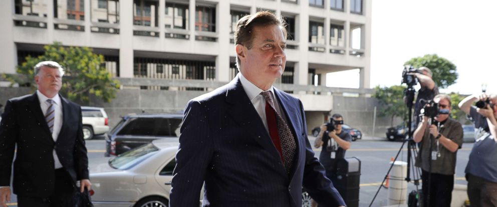 PHOTO: Paul Manafort, former campaign manager for Donald Trump, arrives at federal court in Washington, June 15, 2018. Aaron P. Bernstein/Bloomberg via Getty Images