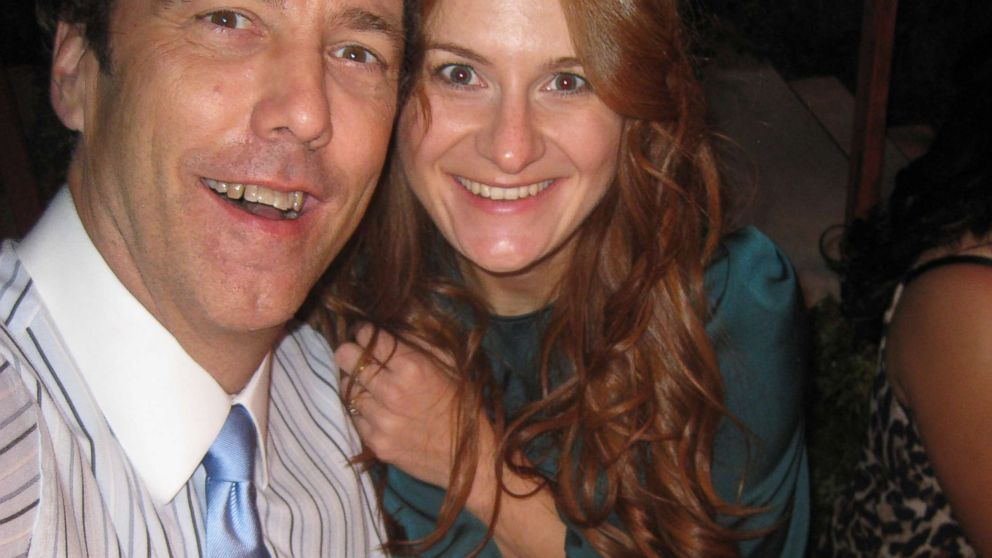 Maria Butina, a Russian gun-rights activist, and Paul Erickson, a conservative political operative are pictured together in an undated handout photo.
