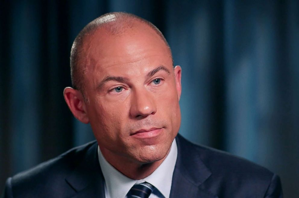PHOTO: Stormy Daniels attorney Michael Avenatti spoke to ABC News Tom Llamas on Feb. 7, 2018.