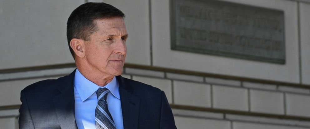 PHOTO: In this Dec. 1, 2017, file photo, former Trump national security adviser Michael Flynn leaves federal court in Washington.