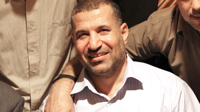 PHOTO: Hamas militant leader Ahmed al-Jabari is seen posing in Cairo, Oct. 18, 2011.