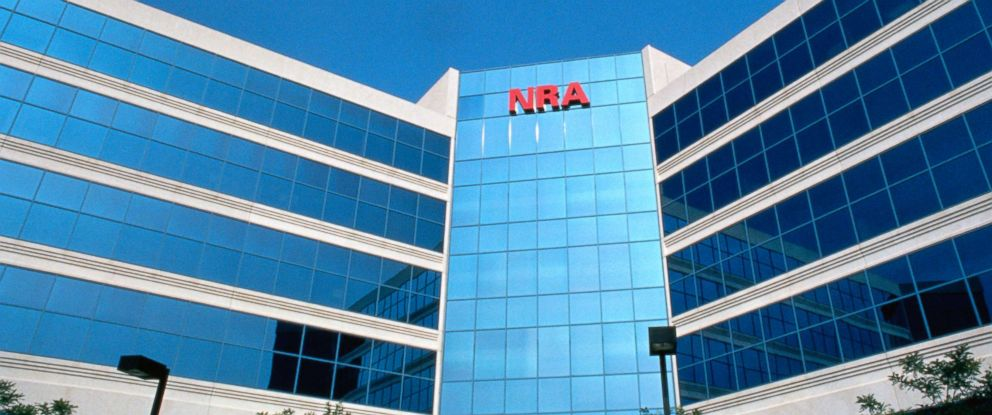 PHOTO: The National Rifle Association headquarters are seen here.