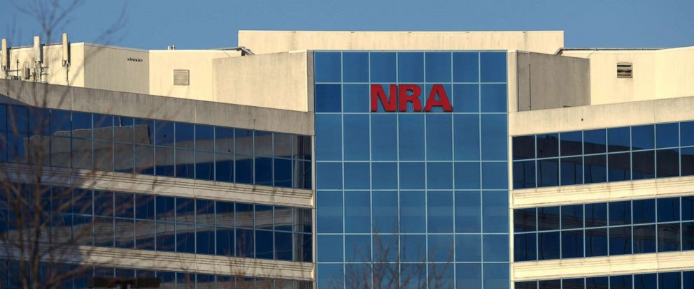 PHOTO: The National Rifle Association of America headquarters building is seen, Jan. 10, 2013, in Fairfax, Va. The building also contains the National Firearms Museum.
