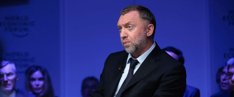 PHOTO: Oleg Deripaska, billionaire and president of United Co. Rusal, speaks during a panel session at the World Economic Forum (WEF) in Davos, Switzerland, Jan. 17, 2017.