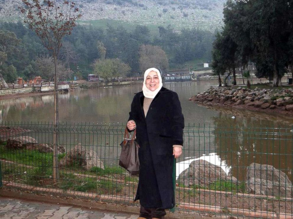 PHOTO: Orouba Barakat was an active member of the Syrian Opposition Council, a group of Syrian expatriates who stand against the regime of Bashar al-Assad in Damascus.
