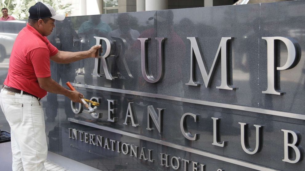 Police evict Trump staff from Panama hotel amid ongoing dispute