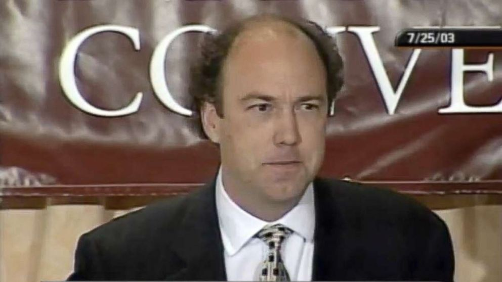 Paul Erickson speaks at the College Republican National Convention on July 25, 2003.