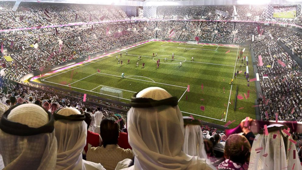 An undated artists impression provided by 2022 Supreme Committee for Delivery and Legacy, the Al Rayyan Stadium, a Qatar 2022 World Cup venue to be built in Al-Rayyan, Qatar.