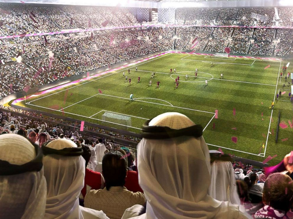 PHOTO: An undated artists impression provided by 2022 Supreme Committee for Delivery and Legacy, the Al Rayyan Stadium, a Qatar 2022 World Cup venue to be built in Al-Rayyan, Qatar.